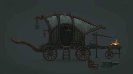 Blacksmith cart_Mandragora
