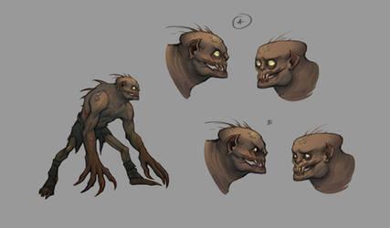 Putrid Ghoul_Mandragora concept