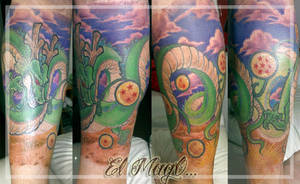 SHEN LONG DBZ TATTOO by magictattoo