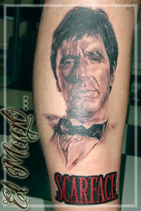 TONY MONTANA TATTOO by magictattoo
