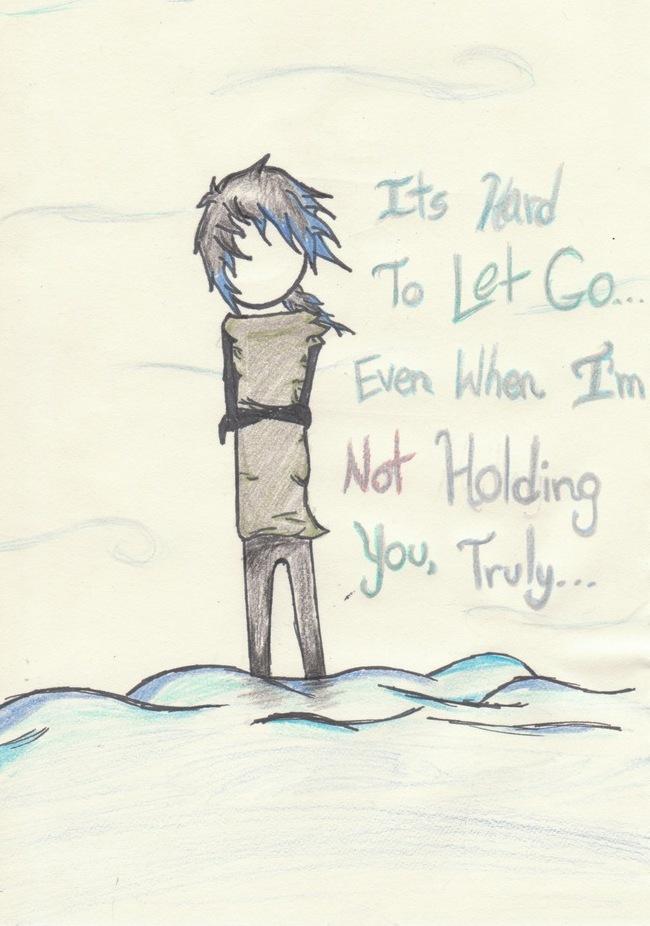 Image result for hard to let go