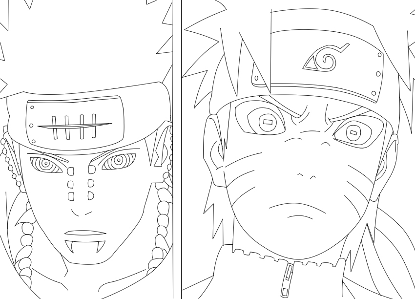 HD wallpapers 999 coloring pages naruto