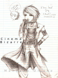Cinema Bizarre band member1 by AkiraRatsura