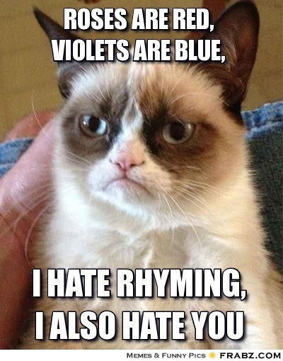 Grumpy Cat Valentine's Day by HotWireGirll6