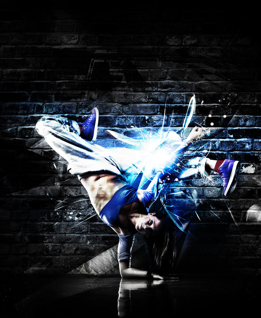 Break dance III by double-graphic