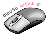 Mouse Artist Stamp