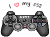 I love my PS2 stamp by SteffieSilva