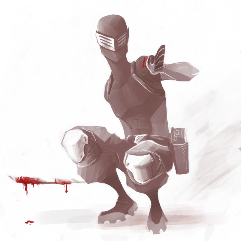 G.I.J:R: Ninja McBamf by fowlGibberish
