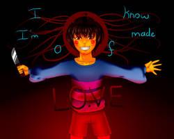 .:Undertale:. I know i'm made of L.O.V.E by xXFieryPotatoXx
