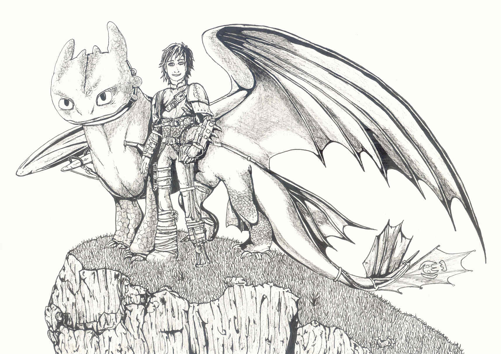 How to train your dragon toothless and hiccup by noscrow on deviantart how to train your dragon toothless and hiccup by noscrow ccuart Images