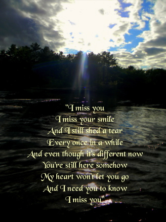 Quotes-Missing someone by Katzeye007Quotes About Missing Someone Who Passed Away