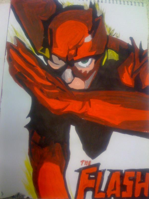 The Flash - Acrylic