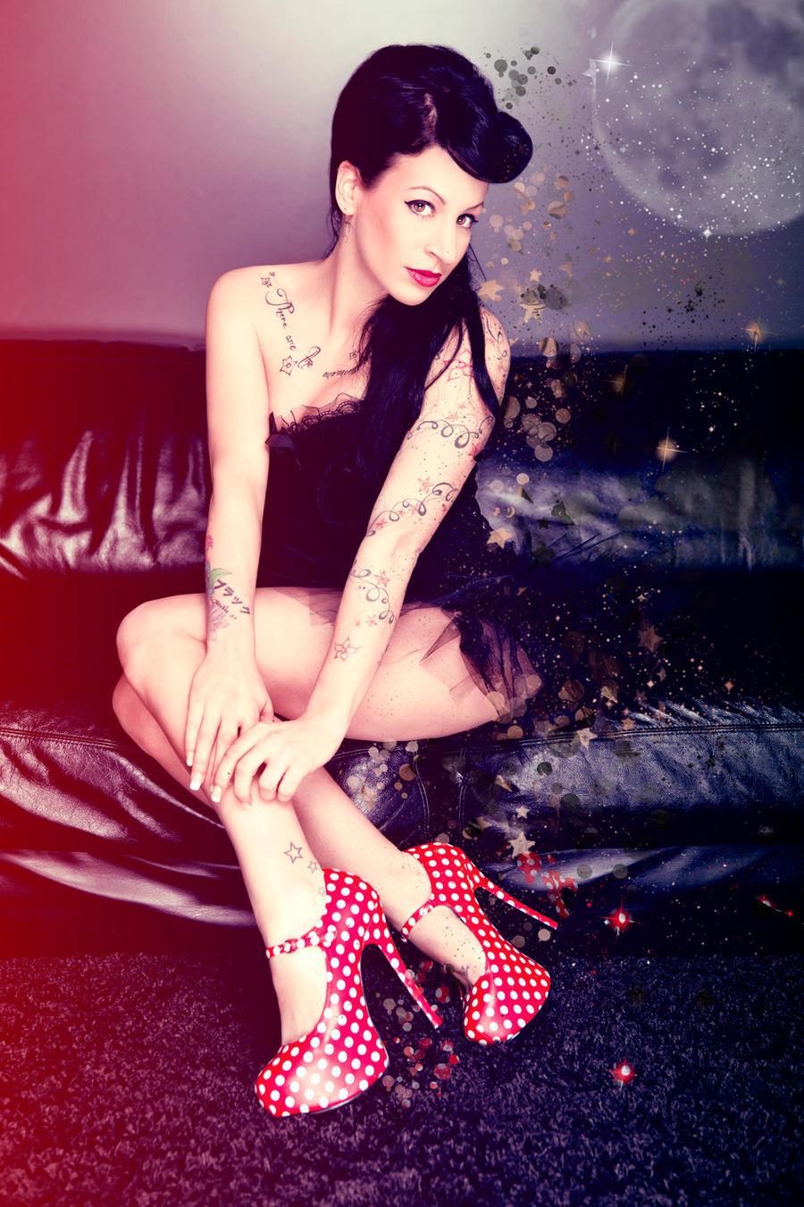 rockabilly lady