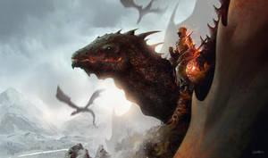 -dragon rider- by omertunc