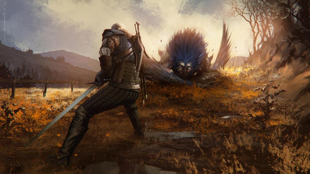 witcher 3 wild hunt by omertunc