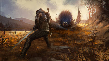 witcher 3 wild hunt by omertunc
