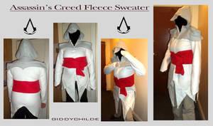 Assasins Creed Fleece Hoodie by giddychilde
