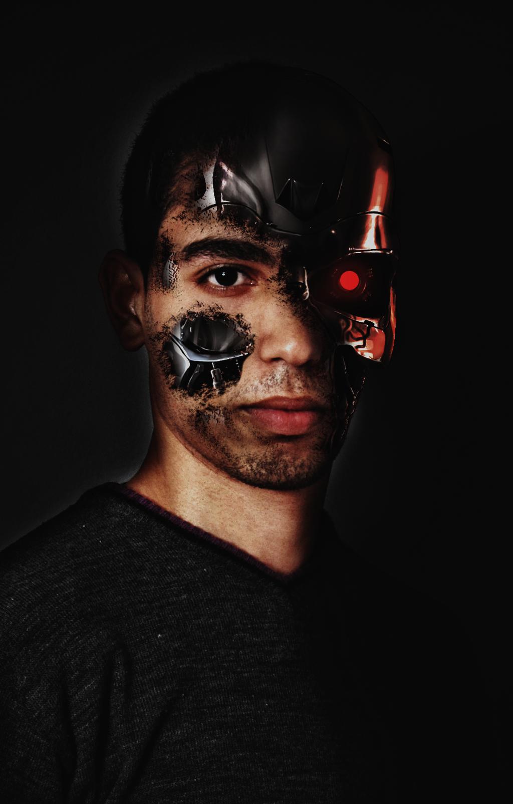 Terminator face by WeeZi01 on DeviantArt