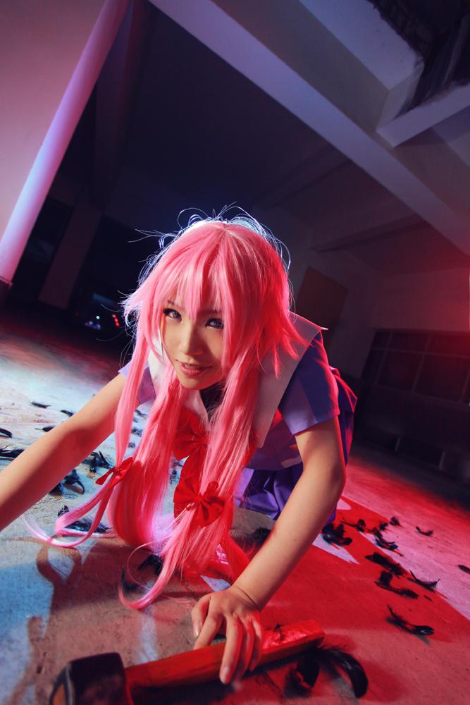 Future Diary - yuno 02 by Phoenixiaoio