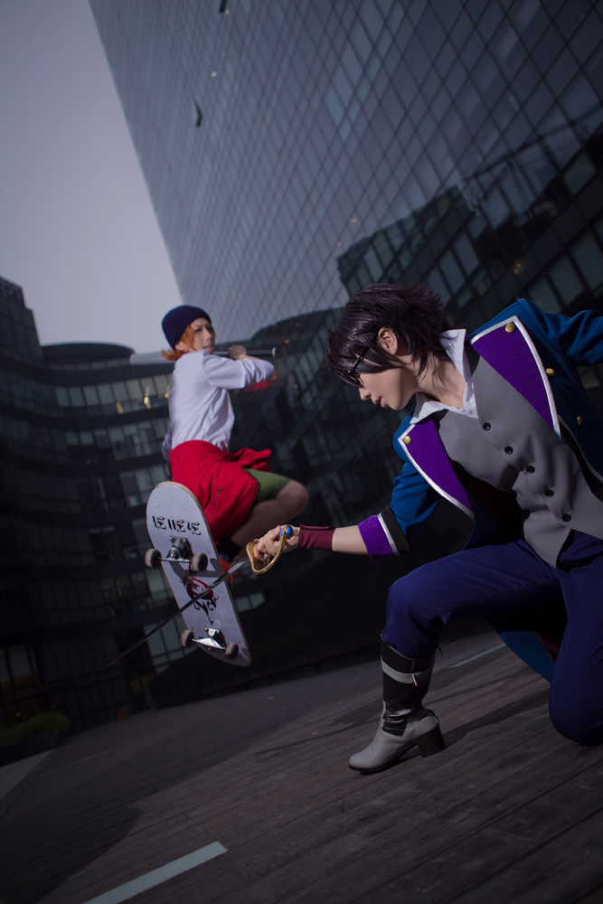 k - Fushimi and Yata by Phoenixiaoio