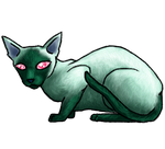 Siamese shinycat, again