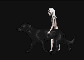 Black Dog by FrightRat