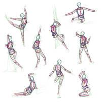 Anatomy Practice by giselleukardi