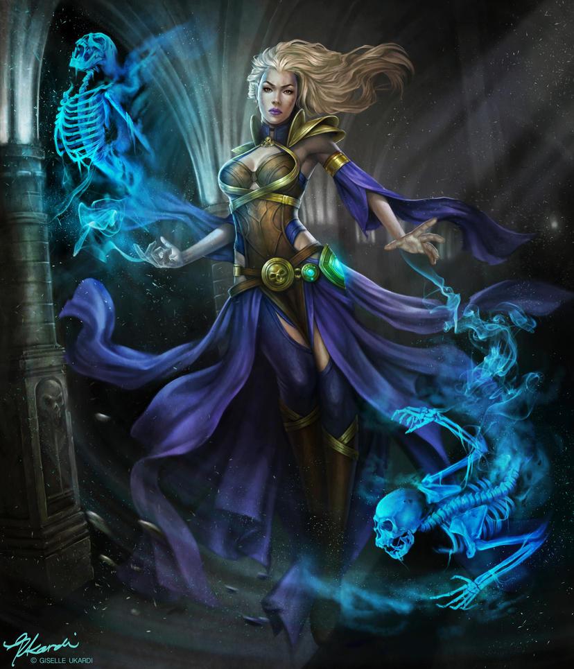outcast odysset contest entry wizard warlock by giselleukardi on