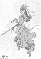 Character Sketch II by giselleukardi