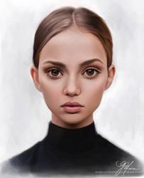 Portrait Study I - Inka Williams