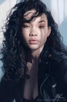 Portrait Study II - Ashley Moore