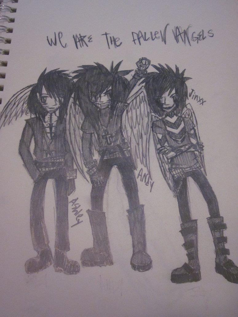 Bvb Fallen angels by Jamesstruble on DeviantArt