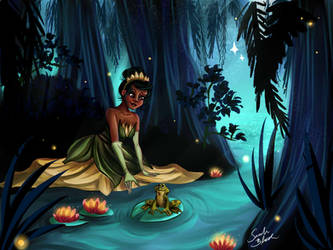 The Princess and The Frog by Blossom525