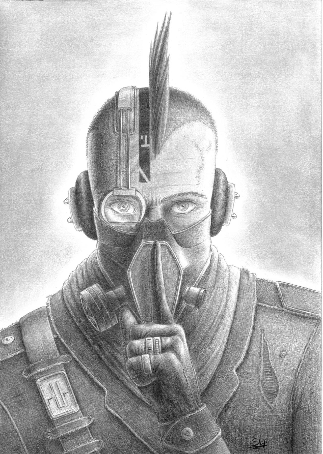 'Shhh...!' by Sly-Mk3