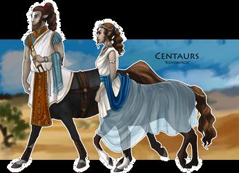 WoC races - Centaurs by Brissinge