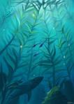 Kelpforests of Sapphire sea