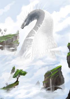 Dragon of white Valley