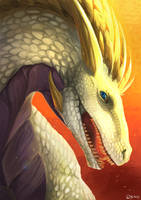 Your dragon here: Lady Tir by Brissinge