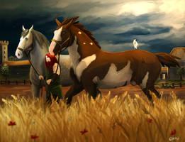Horsemaster Falstir by Brissinge