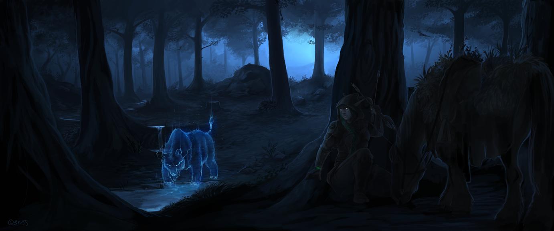 *WON*Night on a prowl by Brissinge