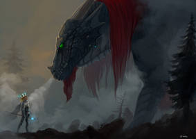 Face to maw by Brissinge