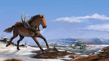 Commission: It's Ice Age by Brissinge