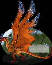 WoC Beasts - Jungler Wyvern by Brissinge