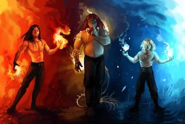 Fireborn, dragonborn and highborne by Brissinge