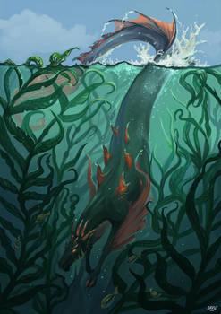 YHH: Among kelps