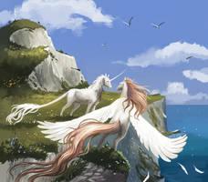 Commission: White cliffs