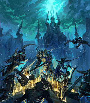 Commission: Beneath the citadel