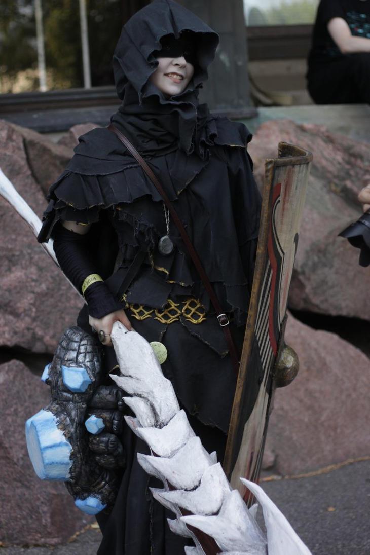 my dark souls cosplay 2 by gisulih on deviantart