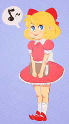 Paula Polestar (Earthbound) by Skellytune
