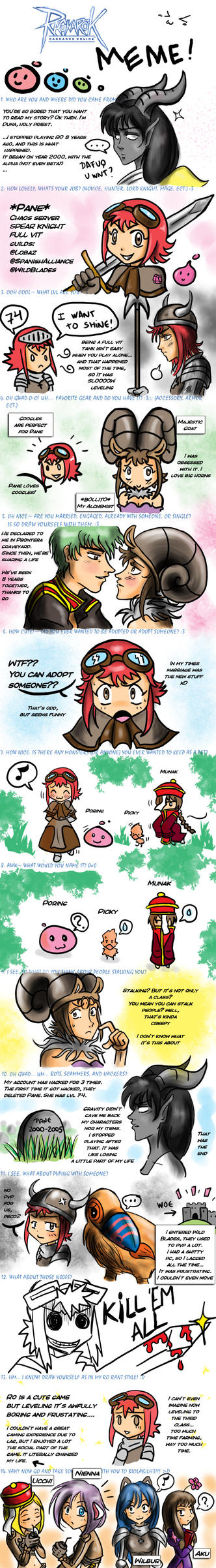 Ragnarok Online Meme by Tsubasanokami by QuietDuna